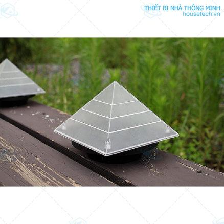 Đèn sân vườn hình kim tự tháp