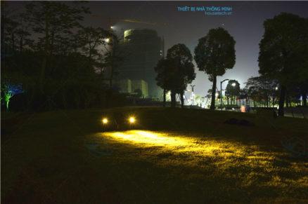Đèn tiểu cảnh trang trí cây