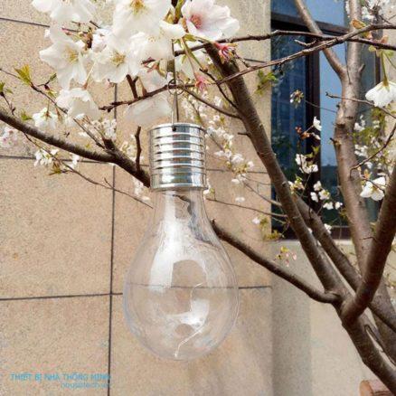 đèn treo sân vườn năng lượng mặt trời