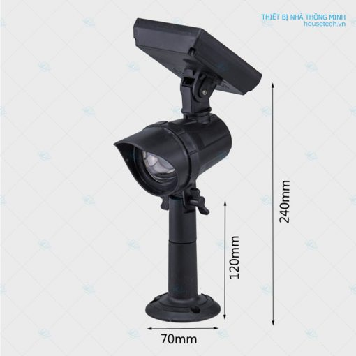 Kích thước đèn tiểu cảnh 05W