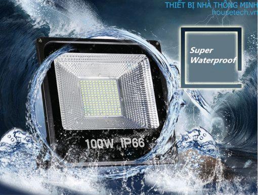 đèn 100led năng lượng mặt trời giá rẻ