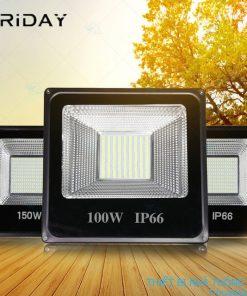 đèn led trang trí năng lượng mặt trời 100W