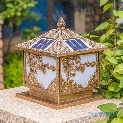 đèn năng lượng mặt trời cây tùng