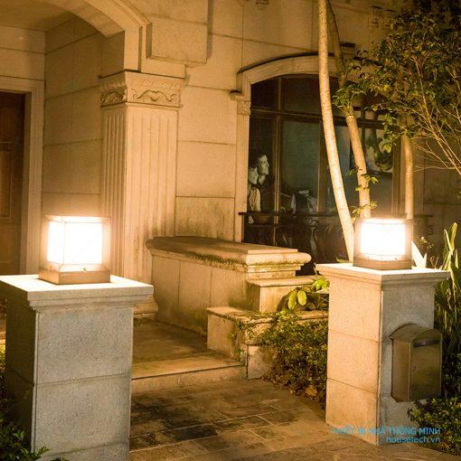 đèn trang trí cổng năng lượng mặt trời