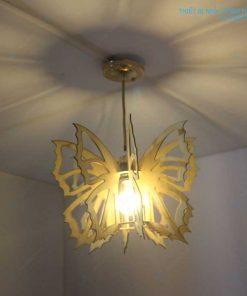 đèn cánh bướm bằng gỗ HT583