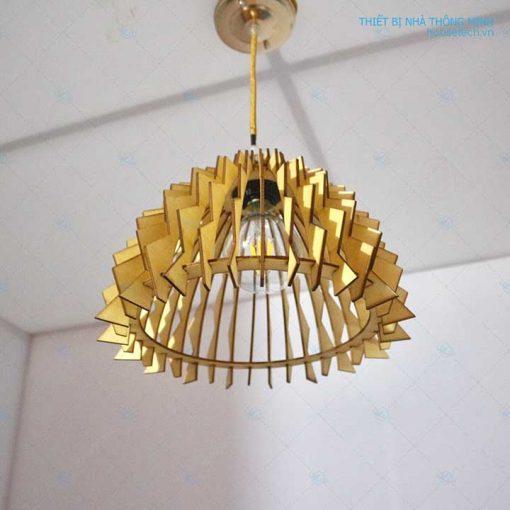 đèn gỗ trang trí phòng bếp HT591