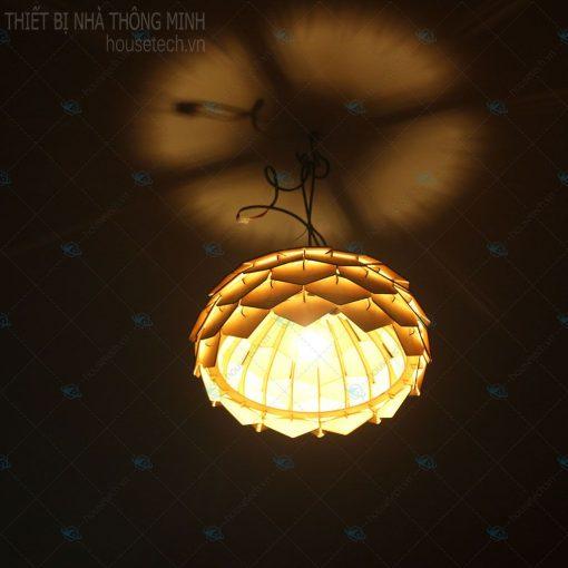 Đèn gỗ treo bàn ăn HT644