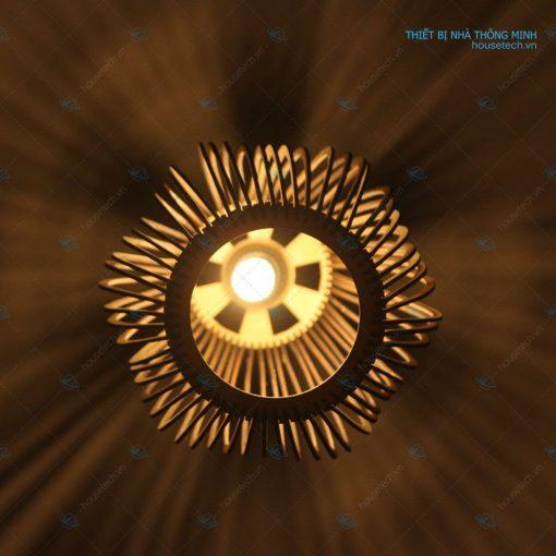 Đèn trang trí bằng gỗ tại Hà Nội