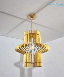 đèn trang trí đẹp bằng gỗ HT586