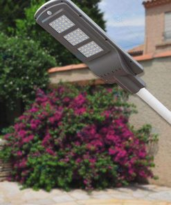 Đèn đường năng lượng mặt trời pin liền 60W