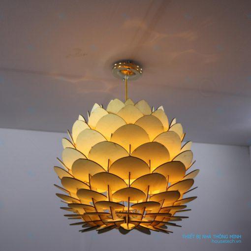 Đèn gỗ trang trí HT705