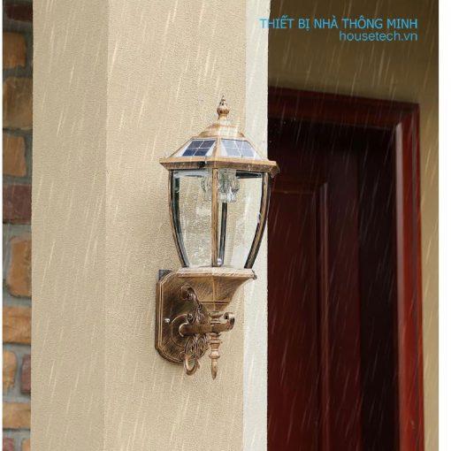 Đèn gắn cột nhà đẹp
